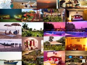 Toshali Sands Collage