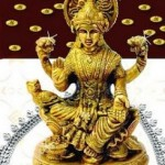 Goddess Laxmi on Dhanteras Festival
