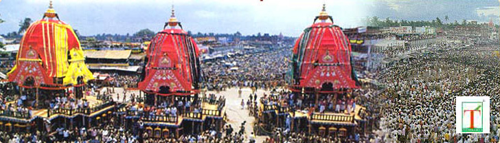 Rath Yatra: The Car Festival at, Puri