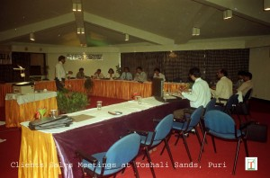 Toshali Sands_ Conference undergoing