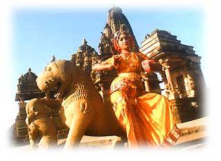 Khajuraho Dance Festival (Image Courtesy Madhya Pradesh Tourism)