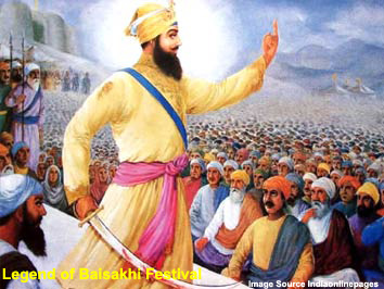 Legends of Baisakhi