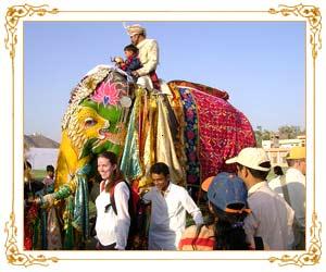 Elephant festival (Image Courtesy Rajasthan Tourism)