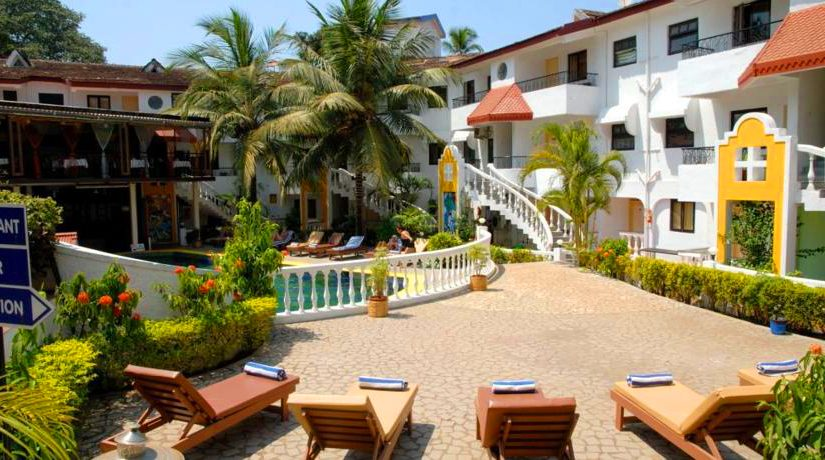 Hotels in Candolim Goa for a Peaceful Budgeted Holiday
